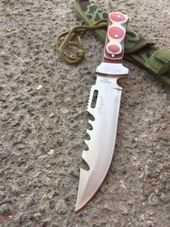 Cuchillo Tactico Militar Con Funda De Casería Mayoreo