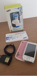Celular Samsung Galaxy 551 Gt-i5510t C/ Teclado Deslizante