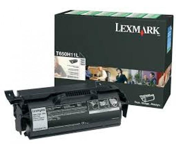 Toner Lexmark T650 T652 T654 T650h11l Original