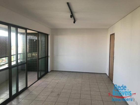 Apartamento Com 3 Dormitórios Para Alugar, 112 M² Por R$ 3.800/mês - Parnamirim - Recife/pe - Ap10155