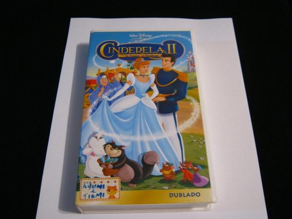 Fita Vhs Cinderela Ii Walt Disney Filme Infantil Dublado