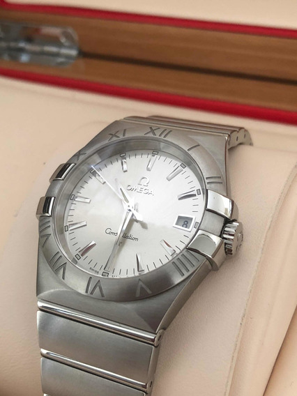 Omega Constellation 35 Mm Quartz C/certificado