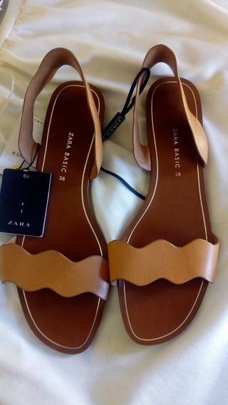 Sandalias Zara Mujer 38