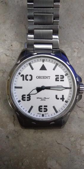 Relogio Orient Mbss1 195 Todo Em Aço Inox Sem Detalhes
