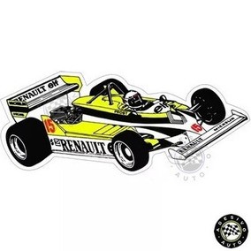 Adesivo Renault Re30 Alain Prost F1 Formula 1 Carros