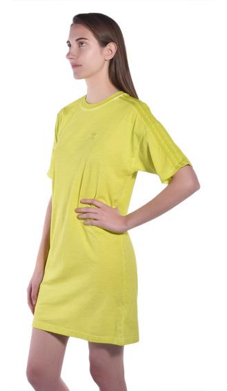 Vestido adidas Amarillo Du8499 Mujer