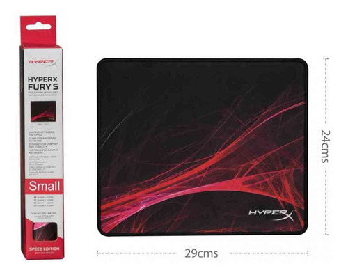 Padmouse Profesional Hyperx Fury S - Speed Edition Small