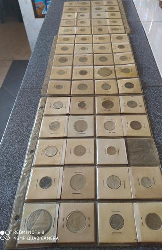 Colección De Monedas Antiguas De Distintos Países