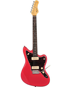 Guitarra Tagima Woodstock Tw-61 P90 Jazzmaster Fiesta Red