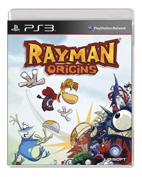 Rayman Origins - Ps3 - Usado - Original - Mídia Física
