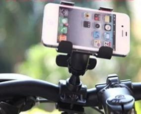 Kits 24 Suportes Celular Gps Moto Bike Modelo Garra Dupla