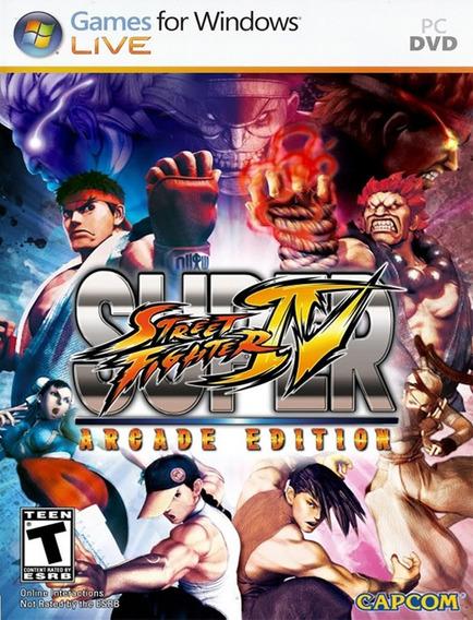 Super Street Fighter Iv: Arcade Pc - Original (steam Key)