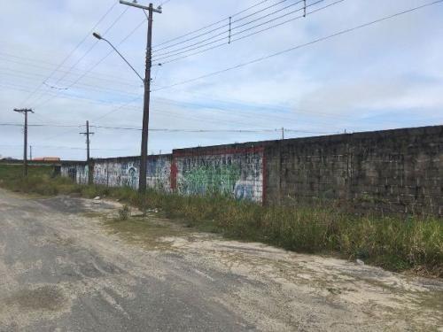 Terreno Comercial No Bairro Chácaras Cibratel, Em Itanhaém
