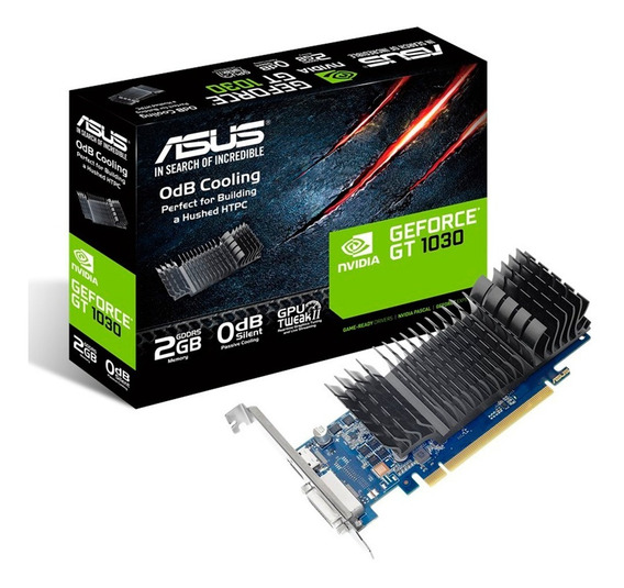 Placa De Video Asus Geforce Gt 1030 2gb Ddr5