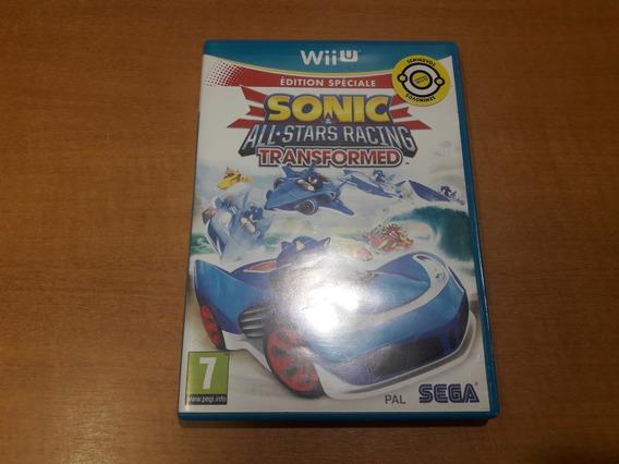 Wii U Sonic E All Star Racing Transformed Pal