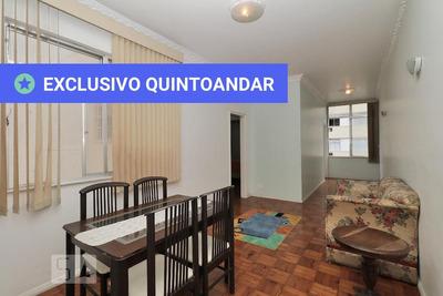 Apartamento No 6º Andar Mobiliado Com 1 Dormitório - Id: 892906870 - 206870