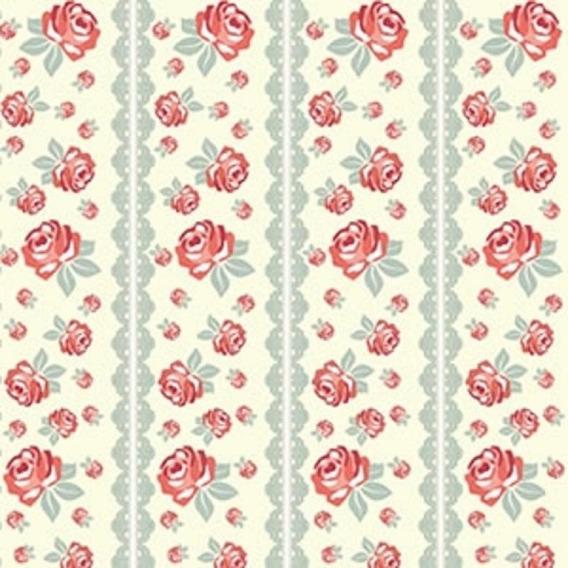 Papel Adesivo Flor Rosas 2 Metros 4375 Contact