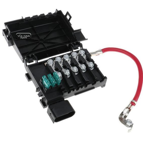 Caixa Fusivel Rele Bateria Golf Audi A3 Bora Passat