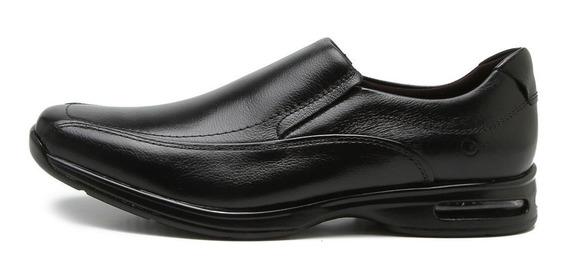 Zapato Mocasin De Cuero Democrata Hombre Air Spot 448027