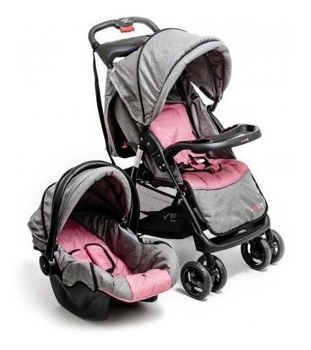 Coche Cuna Huevito Butaca Posiciones Baby Seat Travel