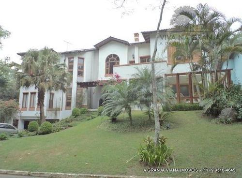 Casa Com 5 Dormitórios À Venda, 850 M² Por R$ 2.500.000,00 - Granja Viana - Jandira/sp - Ca0294