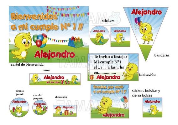 Banderines Playa Souvenirs Para Cumpleaños Infantil En