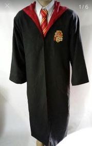 Fantasia Capa Manto Harry Potter Grifinória + Gravata