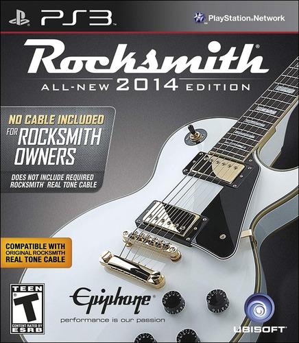 Imagem 1 de 1 de Rocksmith 2014 Edition Ps3 (não Acompanha Cabo)