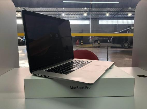 Macbook Pro Retina 15 I7 16gb 500ssd- 219 Ciclos - Impecável