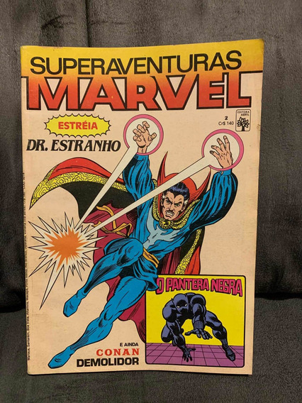 Superaventuras Marvel Nº 2 | Excelente Estado