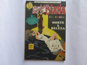 As Aventuras De Diana N° 3 Em Cores Ebal 1974
