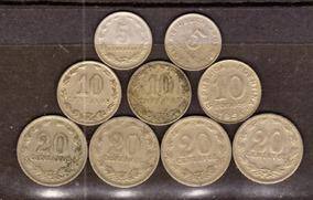 Arg 1922-1954 Lote 9 Monedas Oferta ( M 2) Imperdible Vea
