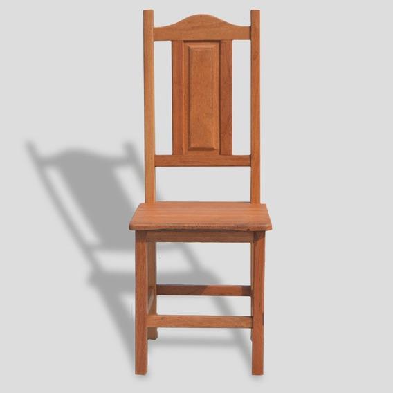 Cadeira Almofada Madeira Maciça