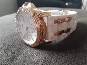 Relógio Guess Branco E Dourado Feminino
