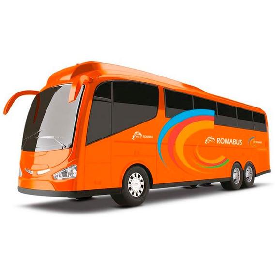 Ônibus Infantil Para Meninos Brinquedo Bus 1900 Roma Full