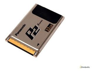 Tarjeta Panasonic P2 E Series 32 Gb