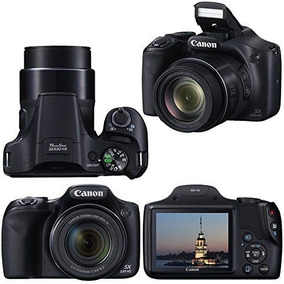 Câmera Canon Sx530 Hs Zoom 50x Wi-fi + Bolsa+ Tripé+ 32gb
