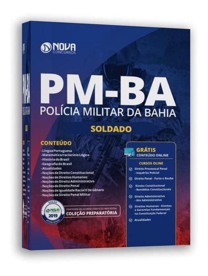 Apostila Policia Militar Pm-ba 2019 - Soldado