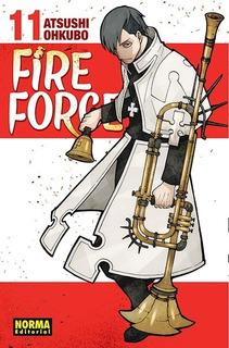 Fire Force - Atsushi Ohkubo - Norma - Tomos Varios C/u