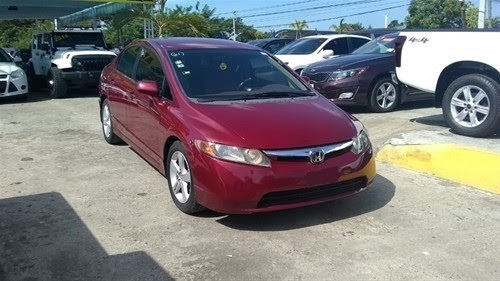 Honda Civic Rojo 2006