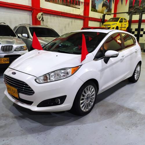 Ford Fiesta Titanium 2014 Blanco