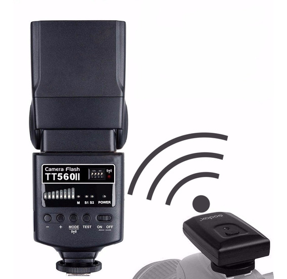 Flash Nikon Ou Canon Speedlite Tt560 Godox Cameras Dslr