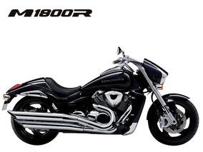 Suzuki - Boulerard M1800 - Harley Davidson, Road King