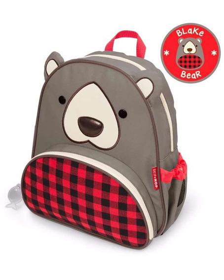 Mochila Skip Hop Zoo Urso 100% Original