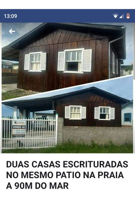 Vendo Casa Na Praia Balneário Arroio Do Silva ,sc