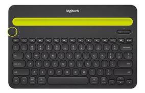 Teclado Bluetooth Logitech K480 Sem Fio Para iPad E Tablet