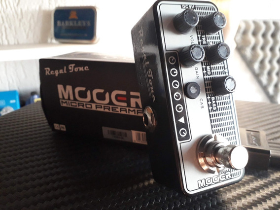 Pedal Mooer Pre Amp Regal Tone 007 Simulador De Amplificador