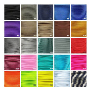 Paracord 5 Metros Cuerda 550 Tipo 3 - 50 Colores Made In Usa