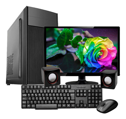 Computador Pc Completo I5 4gb Ssd 240gb Monitor
