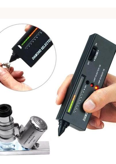 Kit Joyero: Verificador Diamantes, Báscula, Lupa Microscopio